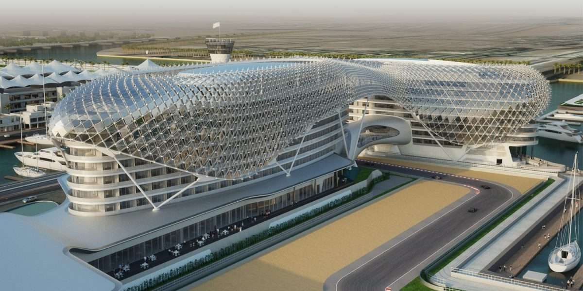 Yas Marina Hotel - Fabrication