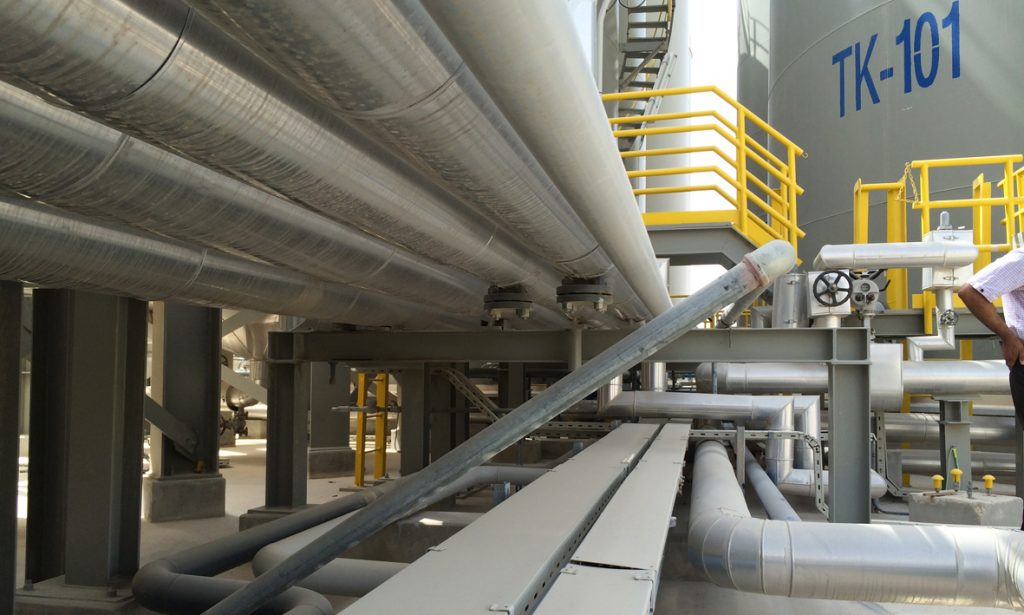 Al Jaber Precision Engineering piping